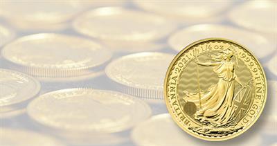 2021 Britannia gold bullion with security feature