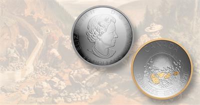 Klondike Gold Rush $25 coin