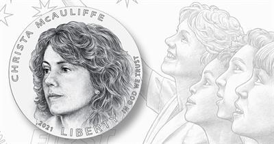 2021 Christa McAuliffe coin