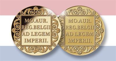 2021 Dutch gold ducat mule error