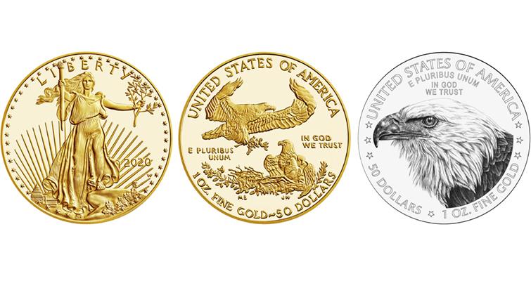 2021 gold American Eagle