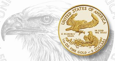 2021 Proof gold American Eagle