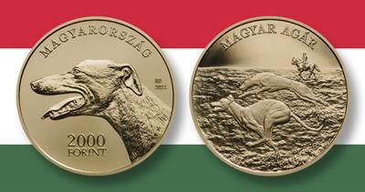2021 Hungarian greyhound coin