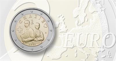 2021 two-euro healthcare workers coin