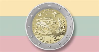 2021 Lithuania nature coin