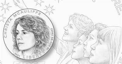 2021 Christa McAuliffe dollar