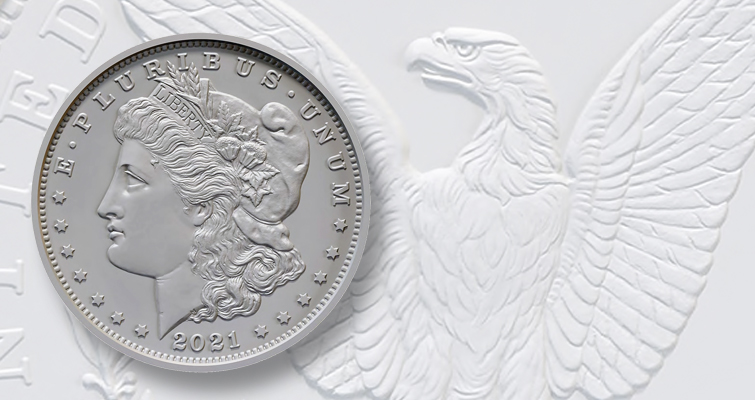 2021 Morgan dollar