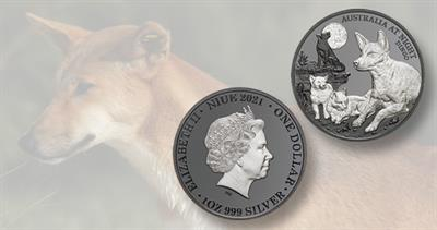 2021 Proof silver Niue