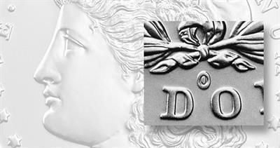 2021 Morgan dollar with O privy mark