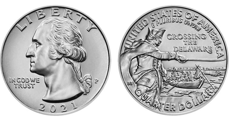2021-P quarter dollar