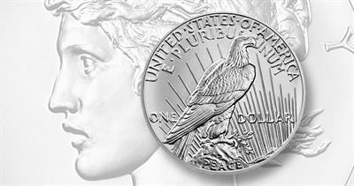 2021 Peace dollar