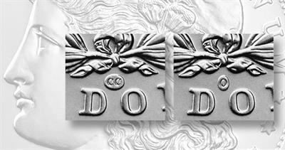 Morgan dollar privy marks