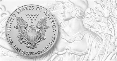 2021 silver American Eagle bullion coin