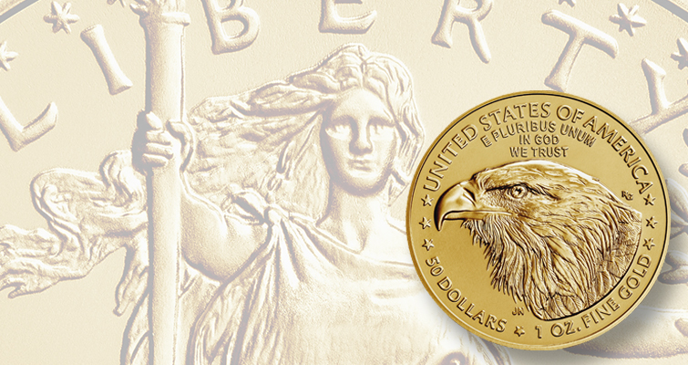 2021 American Eagle gold with Reverse of 2021