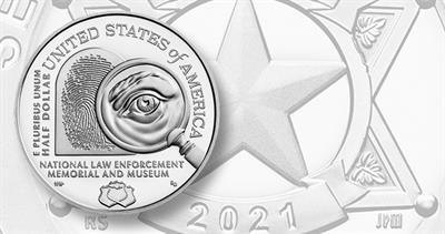 2021-S clad half dollar Law Enforcement Memorial