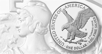 2021-S Proof American Eagle silver dollar