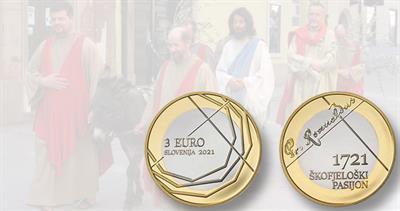 2021 Slovenia three-euro