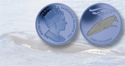 2021 South Georgia £2 coin