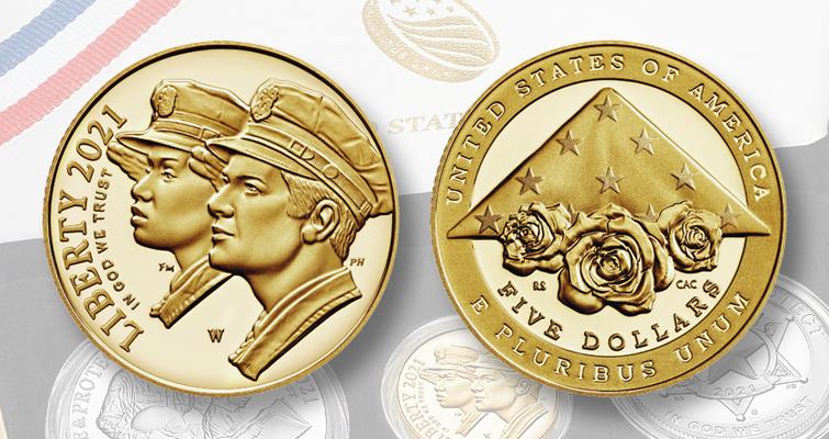 National Law Enforcement Memorial coin set