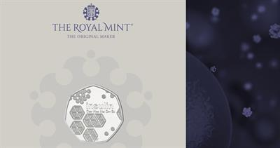 2021 Insulin coin from Royal Mint