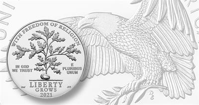 2021-W platinum Proof eagle