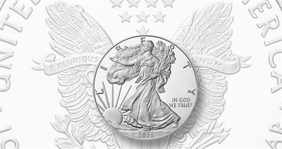 2021-W Proof American Eagle silver dollar