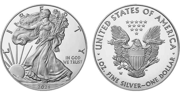 2021-W Reverse of 1986 American Eagle