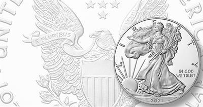 2021-W silver Proof American Eagle