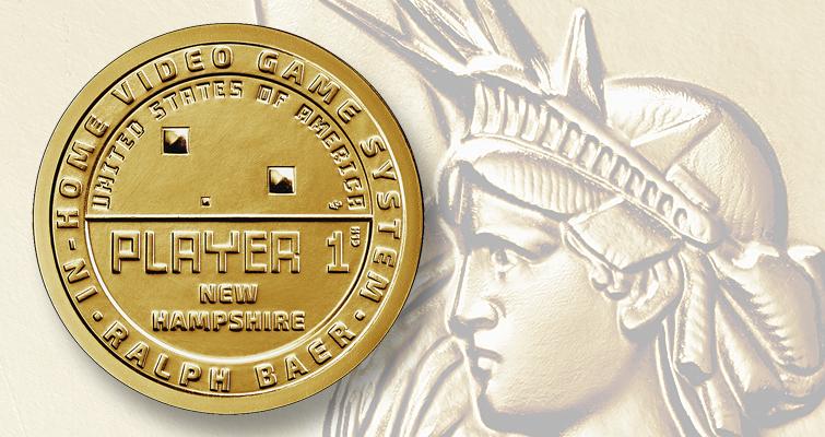 2021 American innovation dollar for New Hamsphire