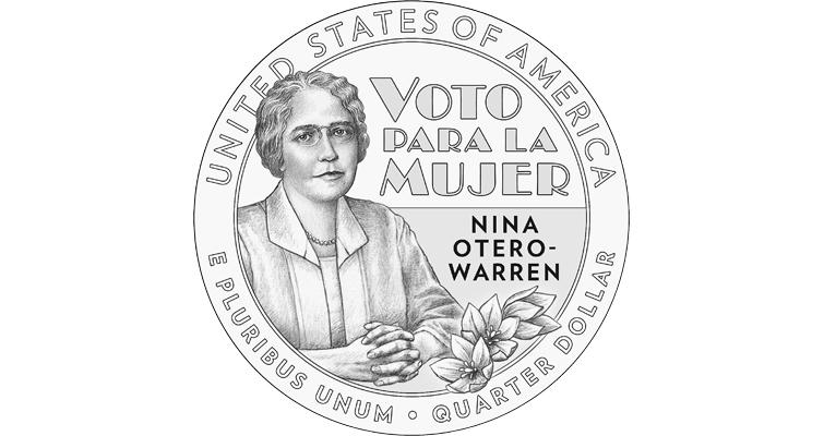 2022 Nina Otero-Warren quarter