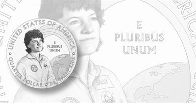 Sally Ride 2022 quarter dollar