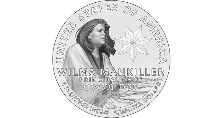 Wilma Mankiller 2022 quarter