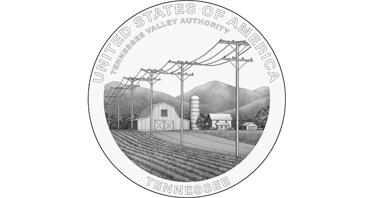 2022 American Innovation dollar for Tennessee