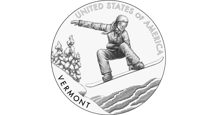 2022 American Innovation dollar Vermont