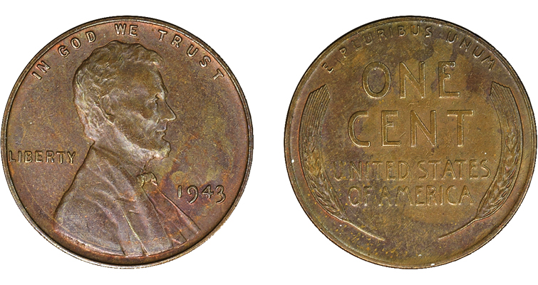 Two previously unreported 1943 copper alloy cents surface