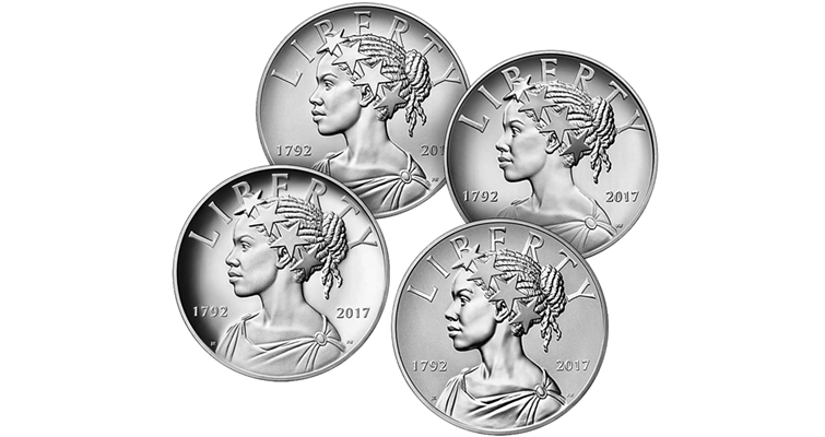 225th-anniversary-four-medals-obverses