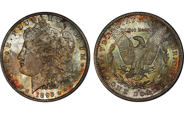 Legend Rare Coin Auctions to auction Coronet Collection of Morgan Dollars in 2015