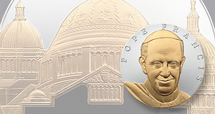 Medals commemorating Pope Francis D.C. visit available from Pennsylvania Association of Numismatists