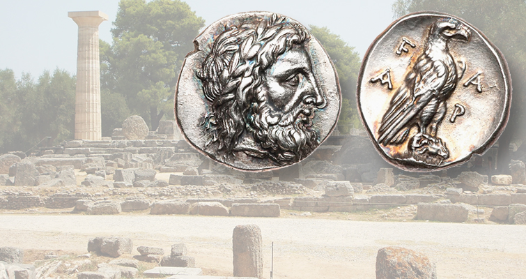 Silver stater is an Olympic coin of ancient origins
