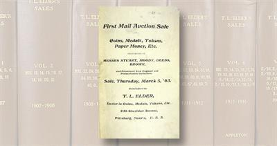 Thomas L. Elder auction catalog