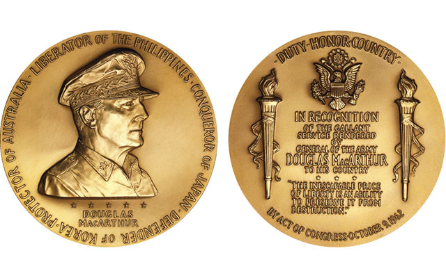 Gen. Douglas MacArthur 'returns' with congressional gold medal recognition