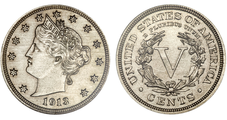 Olsen 1913 Liberty Head 5-cent coin realizes $3.29 million
