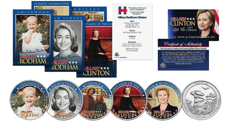 4-clinton-coin-and-card-set