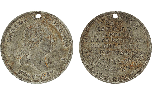 Heritage Auctions Includes Civil War Dog Tags