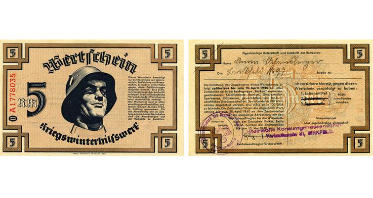 5-reichmarks-german-welfare-note