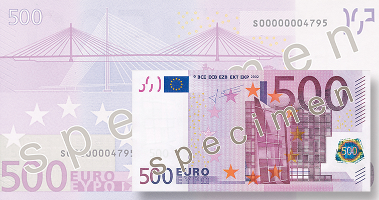 Eurozone to stop printing, issuing €500 note by the end of 2018