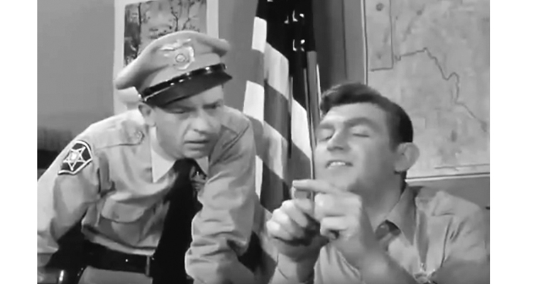 The Andy Griffith Show coins star on television