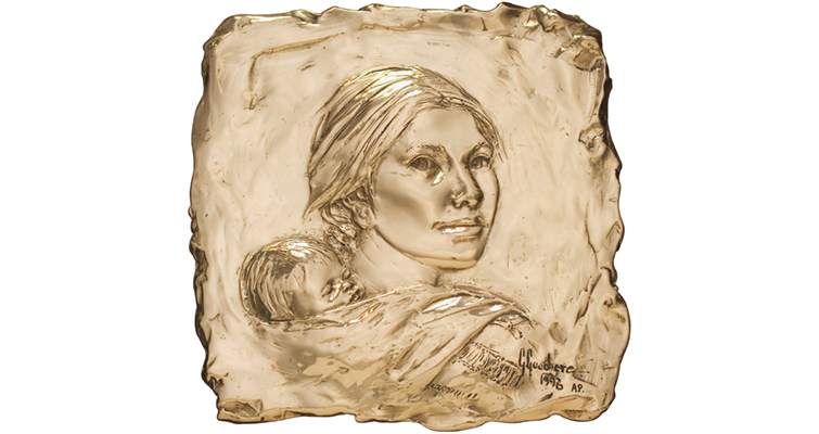 Glenna Goodacre sends to auction Sacagawea dollar-related art