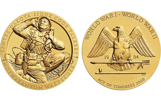 code talkers most recognized with congressional gold medals