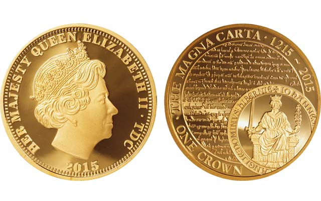 American-based Bradford Exchange marks Britain's Magna Carta with coin